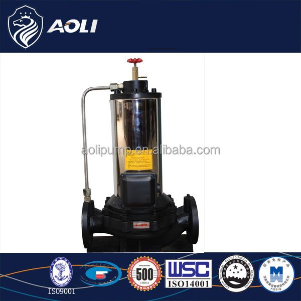 Pbg Type Canned Motor Inline Centrifugal Pump Buy Inline
