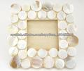 K-WOD 104 bricolaje marco de foto mosaico concha de mar