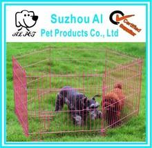 Open Box 6 Panel Pet Exercise Playpen Kennel Dog Runs Fence