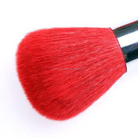 Guangdong red wood handle goat hair round square kabuki brush wholesale