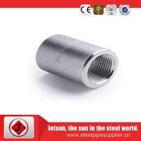 Jetsun high strength tensile Stainless steel pipe hoop, Female wire stainless steel pipe nipple