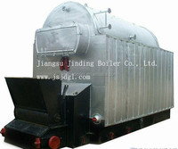 CE Certified Industrial Fire Tube Structure Briquette Fired Steam Boiler