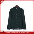 Venda quente algodão e linho puro camisas ocasionais para homens