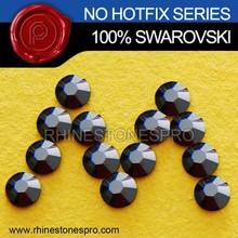 High Quality Swarovski Elements Jet Hematite (280 HEM) 34ss Flat Back Crystal No Hotfix Rhinestone