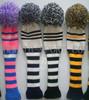 Custom made wool Knitted Hybrid golf head covers
