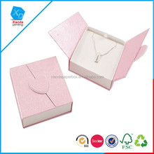 2015 Wholesale high quality hot sale recycled paper good looking jewelry box made in china