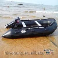 PVC large SA inflatable boat with hardtop