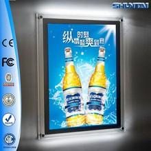 Custom design advertising crystal dynamic led light sign