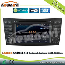 7 Inch Car Dvd Player Android Car Radio With Gps for Mercedes- bens old C class