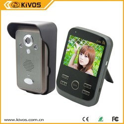 2.4Ghz Wireless take photo night vision cheap capture video door phone