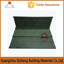 Weight bearing metal roofing tiles/kerala sun stone coated asphalt metal roof tile