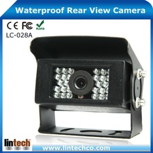 28 Pcs IR LED 650TVL High Resolution Sony Ccd Night Vision 12v Car Rear View Camera For Bus/Truck/Trailer DVR