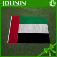 directly sales from flag factory high quality polyester satin cheap price United Arab Emirates flag