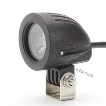 10w mini moto atv led light motorcycle flood led driving light 2inch work lamp