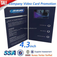 whole sale lcd screen magnetic paper stripe card
