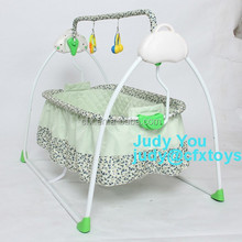 new design baby portable sleeping cradle bed folding infant crib cot with net103A