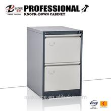 cheap metal kd steel two drawers file cabinet/office furniture