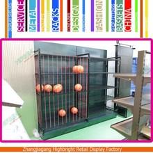 Supermarket Display Shelf and Rack for Basketball