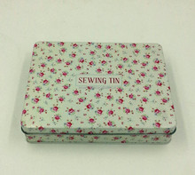 Sewing tin box,sewing tin packaging suit
