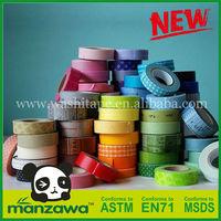Manzawa china manufacturer washi tape adhesive stationery