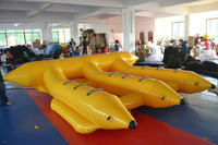 hot sale duable inflatable flying banana boat made in china
