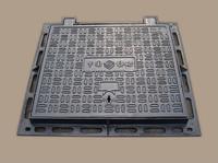 EN124 hard corrosion resistant hourglass ductile cast iron manhole covers
