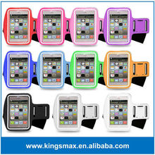Ajustable universal sports brazalete tejido para todos los tipos de teléfonos móviles