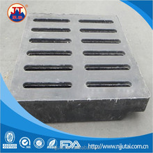 10-200mm thick CNC black UHMWPE gutter cover plate