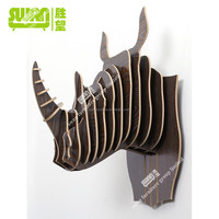 3083 decorative wall rhino horns for sale
