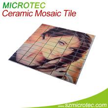 Sublimation Ceramic Mosaic Tile