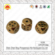 New style design metal polyhedral dice