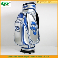 Gaopin high quality stand golf bag parts/personalized golf bags