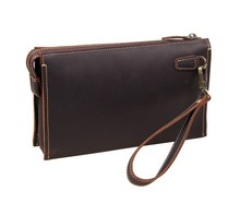 New Arrival Fashion 100% Genuine Leather Men's Wallet Clutch Bag #8043R