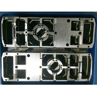 high quality plastic mould , mold inserts components tooling factory