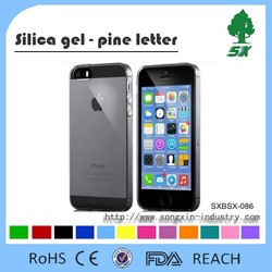 Ultra-thin 0.3mm clear color TPU silicone phone case fo soft silicone phone case