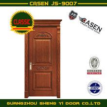 classical style teak wood interior door