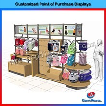 Hot new products for 2015 wooden pet clothes display stand