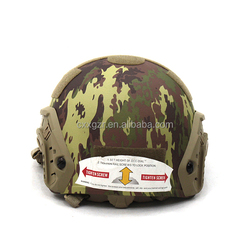 Bullet Proof Helmet---US PASGT Style with Camouflage Cover