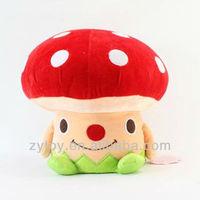 Cute Plush Stuffed Mushroom Toy Oem