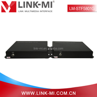 LM-STF5801G SD/HD/3G SDI Digital Video Transmitter Receiver Over Fiber Optic For HD DVR/Monitor