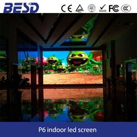 Alibaba express shenzhen direct factory P6 indoor full color led display / ultra-thin super light die-casting cabinet led screen