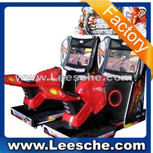 2015 news letter trade assurance used coin operated simulator arcade game machine motorcycle indoor adults game for sale