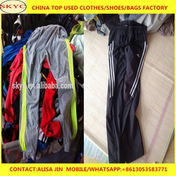 China used clothing women men used clothing load containers