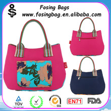 Fashion design large utility tote bag wholesale for women with handle