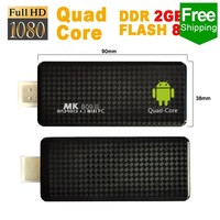 Free Shipping Highly welcomed mk809 iv rk3188 quad core android 4 1 mini pc