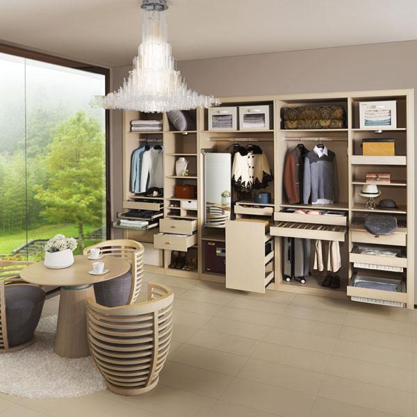 2014 nuevo diseño personalizado de madera blanca armario ropero ...