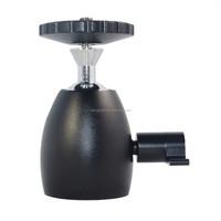 """core competenices Metal Camera Ball Head Holder Mini tripod mount 1/4"""" Screw small tripod mount"""