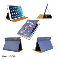 Best seller folio cover leather case for ipad air 5 with smart function