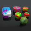 In stock dry herbs or wax burner electronic cigarette and silicone wax jar