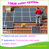 10kw off grid solar system for home solar energy system price /5KW 10KW solar panel system for home